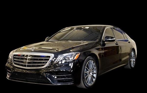 Bulletproof Mercedes S Class