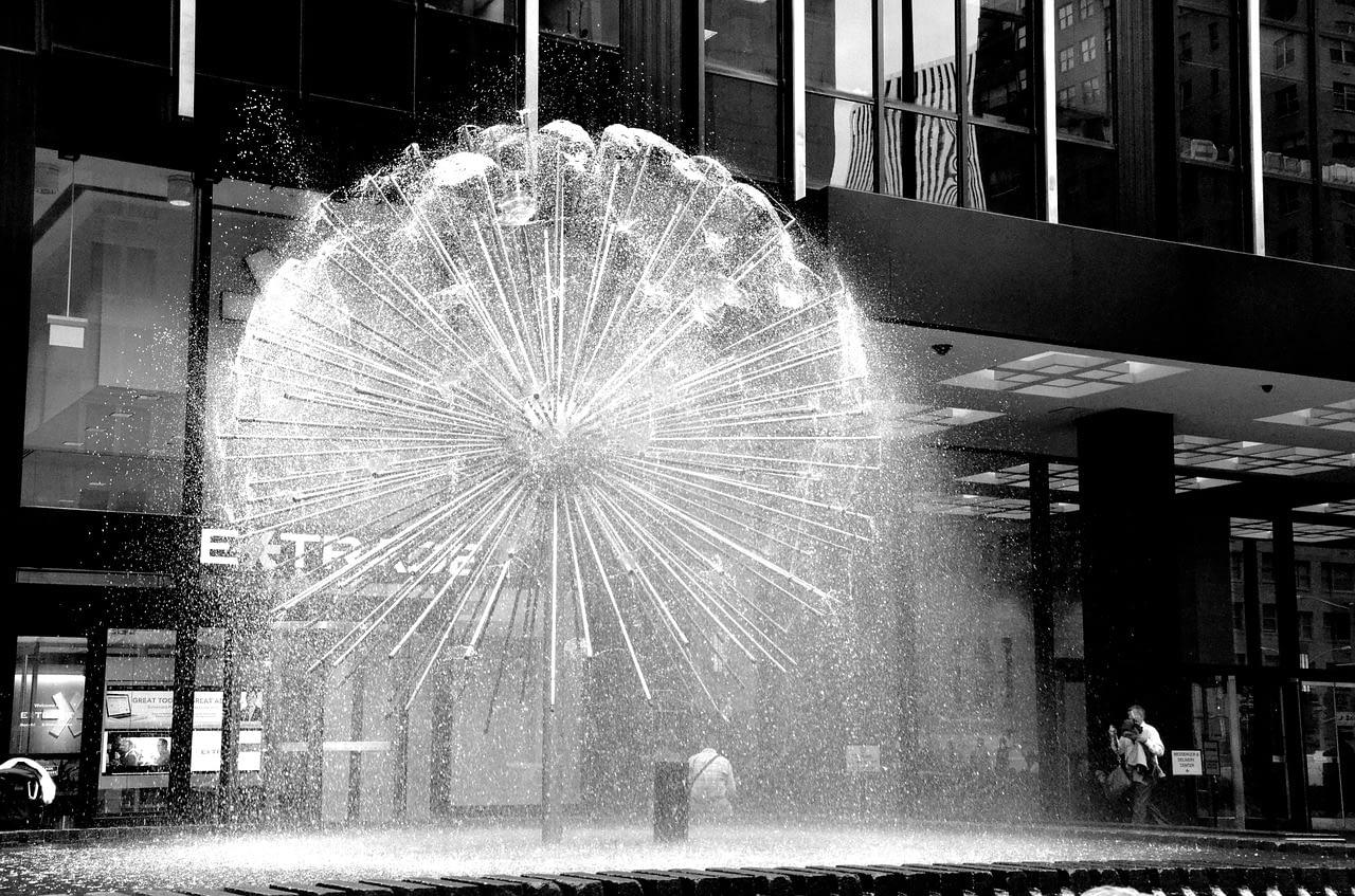 Date Night NYC Fountain