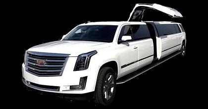 Stretch Cadillac Escalade White 20 passengers