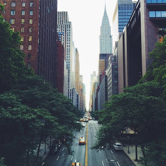 Streets in New York Featured Imaged