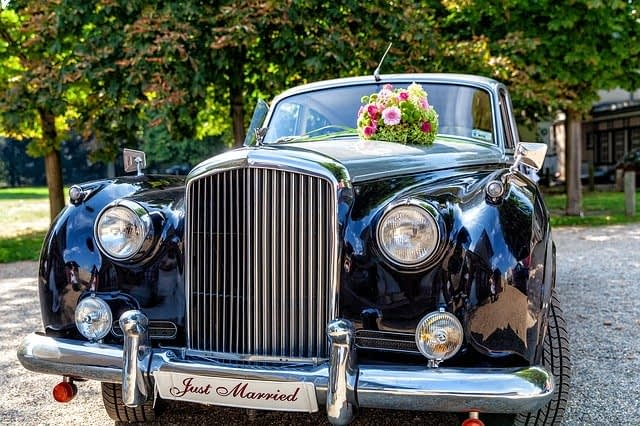 Wedding Limousine - Just Married