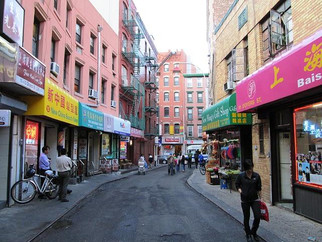 Doyers Street New York City Streets