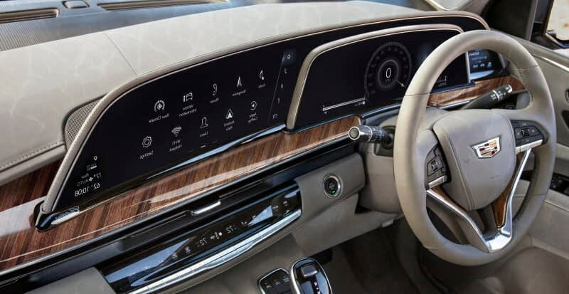 Cadillac Escalade SUV 2021 Interior