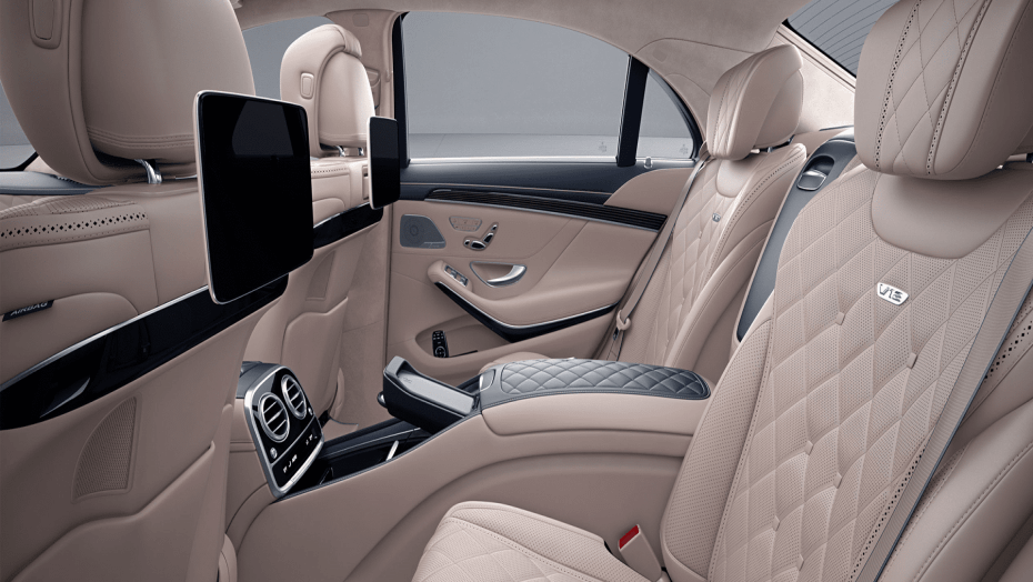 Armored Mercedes S Class
